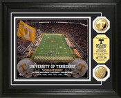 Tennessee Volunteers - Neyland Stadium Gold Coin Photo Mint