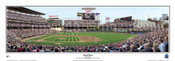 """First Pitch"" Minnesota Twins at Target Field Panoramic Framed Poster"