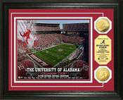 Alabama Bryant-Denny Stadium 24KT Gold Coin Photomint