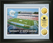 North Carolina Tarheels - Kenan Stadium Gold Coin Photo Mint