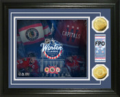 "2015 Winter Classic ""Ticket"" Gold Coin Photo Mint"