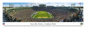 EndZone at Lambeau Field Green Bay Packers Panorama Poster
