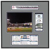 Final Game At Yankee Stadium Ticket Frame - Yankees