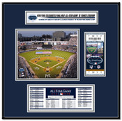 2008 MLB All-Star Game Yankee Stadium Ticket Frame