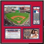 Nationals Park Ticket Frame - Nationals