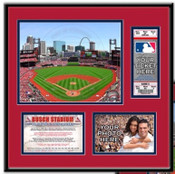 Busch Stadium Ticket Frame - Cardinals