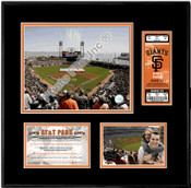 AT&T Park Ticket Frame - Giants