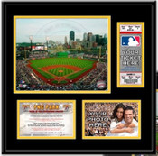 PNC Park Ticket Frame - Pirates - Click to Buy!