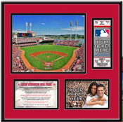 Great American Ball Park Ticket Frame - Reds - Click to Buy!