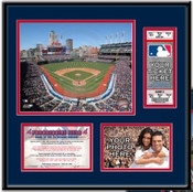 Progressive Field Ticket Frame - Indians