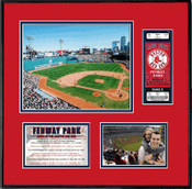 Fenway Park Ticket Frame - Red Sox