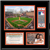 Oriole Park at Camden Yards Ticket Frame - Orioles - Click to Buy!