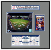 2000 World Series ReplicaTicket Frame - Yankees