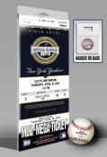 Yankee Stadium 2009 Inaugural Game Mini-Mega Ticket - Yankees
