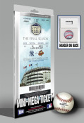 Yankee Stadium Final Game Mini-Mega Ticket - New York Yankees