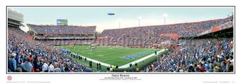 Florida Gators at Ben Hill Griffin Stadium Panorama