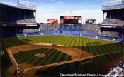 """Cleveland Stadium Finale"" Cleveland Indians Print"