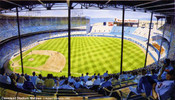 """Cleveland Stadium Matinee"" Cleveland Indians Print"