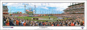 """2012 World Series"" San Francisco Giants Panoramic Poster"
