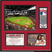 Chase Field Ticket Frame - Diamondbacks