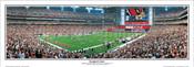 """""""Inaugural Game"""" Arizona Cardinals Panoramic Poster"""