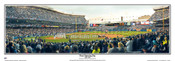 """Final Opening Day"" Yankee Stadium Panoramic Poster"