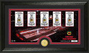 "Chicago Blackhawks ""Tradition"" Minted Coin Pano Photo Mint"