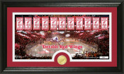 "Detroit Red Wings ""Tradition"" Minted Coin Pano Photo Mint"
