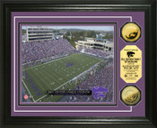 Bill Snyder Family Football Stadium 24KT Gold Coin Photomint