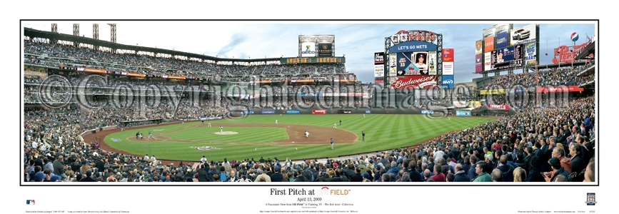 First Pitch at Citi Field Poster - Click to Buy!