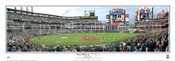 """First Pitch"" New York Mets at Citi Field Panoramic Poster"