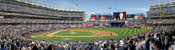"""First Pitch"" New York Yankees at Yankee Stadium Panorama Poster"