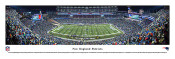 """2013 New England Patriots"" Gillette Stadium Panoramic Poster"