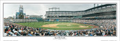 """Top of the Fourth"" Colorado Rockies Panoramic Framed Poster"