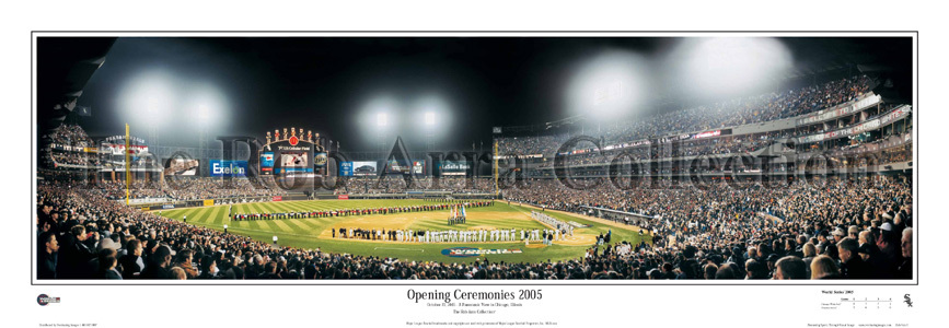 """Opening Ceremonies 2005"" White Sox -  Poster - Click to Buy!"