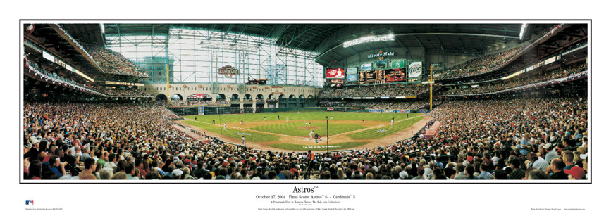 """Astros"" Houston Astros Panoramic Poster"