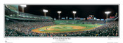 """86 Years and Worth the Wait"" Boston Red Sox Panoramic Framed Poster"
