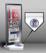 2013 ALCS Ticket Display Stand - Red Sox vs Tigers