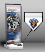 2010 World Series Champions Ticket Display Stand - San Francisco