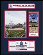 2010 Target Field Minnesota Twins Inaugural Game Ticket Frame