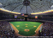 """Astrodome's Greatest Moments"" Houston Astros Print"