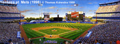 """""""Yankees at Mets"""" New York Mets Print"""