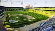 """Comiskey Park Revisted"" Chicago White Sox Print"