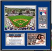 Dodger Stadium Ticket Frame - Dodgers - Click to Buy!