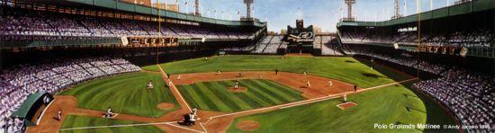 """Polo Grounds Matinee"" New York Giants Print"