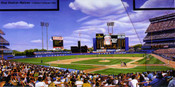 """""""Shea Stadium Matinee"""" New York Mets Print"""