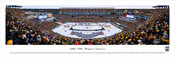"""2016 NHL Winter Classic"" Gillette Stadium Panorama Poster"