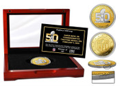 Super Bowl 50 Logo Official Two-Tone Mint Coin