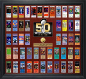 Super Bowl 50 Ticket 50th Anniversary Ticket Collection Gold Coin Frame