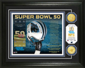 Carolina Panthers Super Bowl 50 Bronze Coin Photo Mint